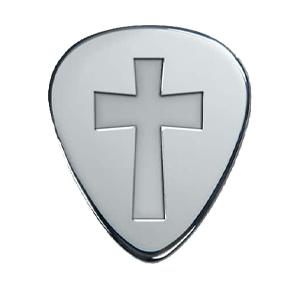 Médiator Argent - Croix
